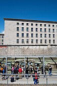Exhibition Topography of Terror at site of former Gestapo Headquarters in Berlin Germany