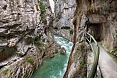 Cares Gorge Garganta del Cares footpath, Picos de Europa National Park, Castilla y Leon, Spain, Europe