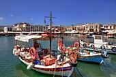 Venetian Port, Rethymno, Crete, Greece