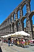 Acueducto Roman acueduct Segovia, Castile and León, Spain