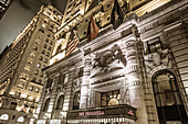 Hotel Peninsula, The Gotham, architectural bureau Hiss und Weekes, Fith Avenue, Manhattan, New York, USA