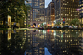 Reflection of the Met Life Building, Park Avenue, Manhattan, New York City