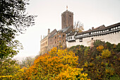 Wartburg Castle. It was during his exile at Wartburg Castle that Martin Luther translated the New Testament into German. In 1999 the site was added to the list of Unesco World Heritage sites, Eisenach, Thuringia, Germany, Europe