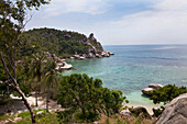 Freedom Beach on Koh Tao Island, Surat Thani Province, Thailand, Southeast Asia