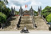 Tomb of the emperor Tu Duc, city of Hue, Vietnam, Asia