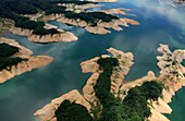 andong lake, Geongsangbukdo, Andong city