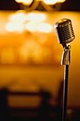 Edmonton, Alberta, Canada, A Vintage Microphone