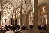 Brunswick cathedral, gothic style, Advent service, Burgplatz, Brunswick, Lower Saxony, Germany