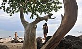 Ting Ray Beach, Ko Jum, Andaman Sea, Thailand, Asia