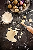 Baking cookies, Styria, Austria