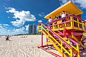 Lifeguards, South Beach, Miami, Florida, USA