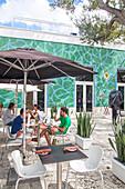 Cafe Brosia, Design District, Miami, Florida, USA