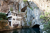 Tekija by the Buna River, Blagaj, Herzegovina-Neretva, Bosnia and Herzegovina