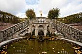 Cascade in Herrenhausen Gardens, Hannover, Lower Saxony, Germany