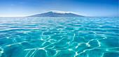 French Polynesia, Tahiti, Moorea, Beauitful seascape of Moorea.