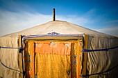'Tent In The Desert, Ulaanbaatar, Mongolia'