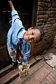 'Boy On School Uniform; Bhaktapur, Nepal'