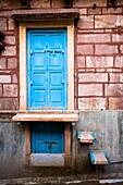 'View Of Unique Front Door, Jodhpur, India'