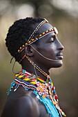 'African Man; Kenya, Africa'