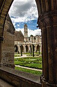 France, Ile de France, Val d'Oise, Royaumont abbey