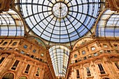 Italy , Milano City , Vittorio Emanuele Galleries