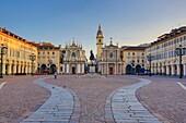 Italy , Torino City, San Carlo Square