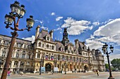 France , Paris City, City Hall Bldg.