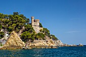 Spain , Catalonia ,Costa Brava Coast , Lloret de Mar City, Beach