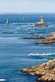 La Pointe du Raz coastline in Brittany, France