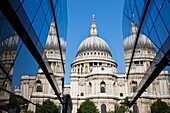 England,London,The City,St Pauls Cathedral