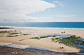 France, Normandy, Manche, Cotentin Peninsula, Ecalgrain bay