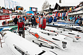 Bobsleigh World Championships 2013, St. Moritz, Engadine valley, Upper Engadin, Canton of Graubuenden, Switzerland