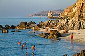 Pizutto beach near Tropea, Tyrrhenian Sea, Calabria, Mediterranean, Southern Italy, Europe