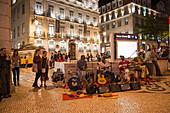 Die Band Guents dy Rincon kommt ursprünglich von den Kapverdischen Inseln, ist aber nun in Lissabon beheimatet und spielt häufig vor der Baixa-Chiado Metro Station in Stadtviertel Chiado, Lissabon, Portugal