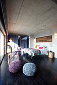 Doppelzimmer mit Dünenblick und Terrasse, Hotel Areias do Seixo, Povoa de Penafirme, A-dos-Cunhados, Costa de Prata, Portugal