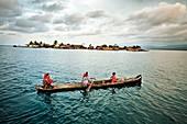 Sugdup island, San Blas Islands also called Kuna Yala Islands, Panama.