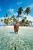 Sichirdup island isla Hormiga, San Blas Islands also called Kuna Yala Islands, Panama.