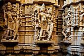 Jain Temple, Jaisalmer, Rajasthan, India.