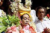 The queens and the ministers  The biggest Nat ritual is held in Taungbyon, about twenty kilometers north of Wagung, in august, for six days including the full moon of Wagung  During a nat pwè, festival, during which nats are propitiated, nat-kadaws dance.
