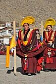China, Gansu, Amdo, Xiahe, Monastery of Labrang Labuleng Si, Losar New Year festival, Opening ceremony