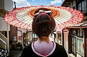 Toshiyu,geisha Geisha´s distric of Miyagawacho Kyoto  Kansai, Japan