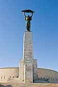 Hungary, Budapest, Gellert hill, Liberation monument
