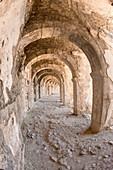 Aspendos Roman Theatre, Upper galleries, Antalya province, Turkey