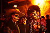 Dia de los Muertos is a Meso-American tradition dedicated to the ancestors which honors both death and the cycle of life  The celebration acknowledges that we still have a relationship with our ancestors and loved ones that have passed away  In San Franci