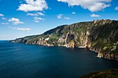 Slieve League cliffs, on the west coast of Donegal, Republic of Ireland