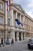 Parlament of Croatia, government quarter, upper town, Zagreb, Croatia