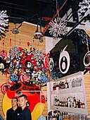 SINGAPORE, Cocco Latte, portrait of bartender in bar
