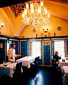 TURKEY, Istanbul, interior of Pandelli restaurant