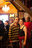ALASKA, Homer, Santi and Megan hang out at a local bar, Alice's Champage Palace, to watch the world cup