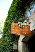 USA, California, Sonoma, Buena Vista Carneros winery, the entry into the oldest premium wine cave in California, built in 1857